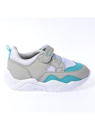 Kiko Kids Kiko S19 Günlük Fileli Cırtlı Kız/Erkek Çocuk Spor Ayakkabı Beyaz